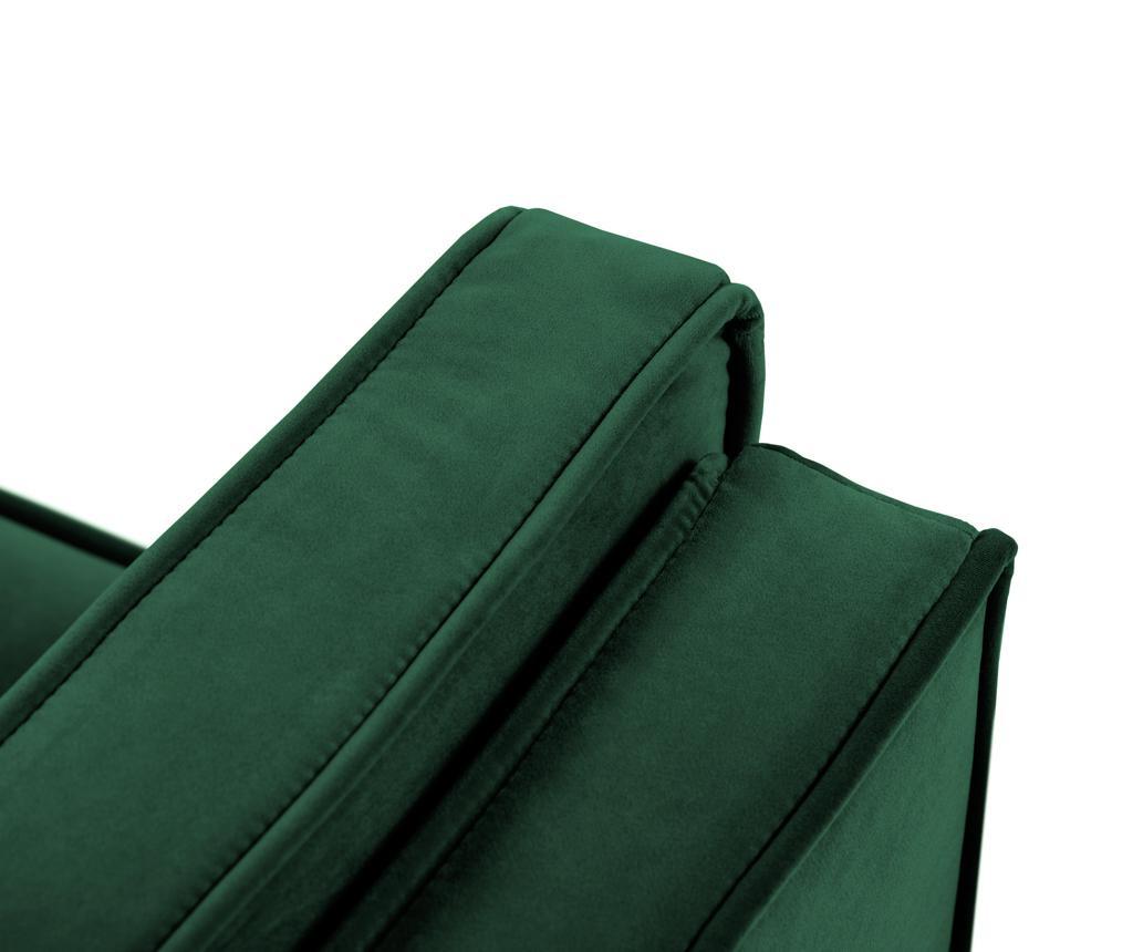 Luis Bottle Green Négyszemélyes kanapé