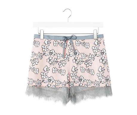 Ženske pižame hlače Floral Blush Short 42-44