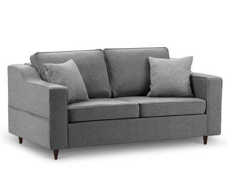Sofa dvosjed Narcisse Dark Grey