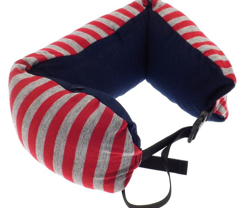 Jastuk za vrat Stripe Red