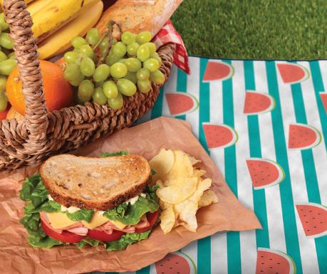 Одеяло за пикник Watermelons 127x152 см