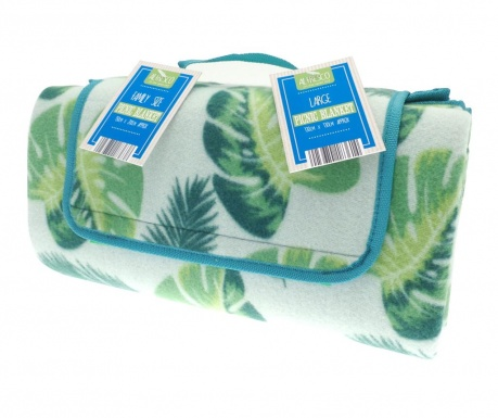 Одеяло за пикник Leaf 130x130 см