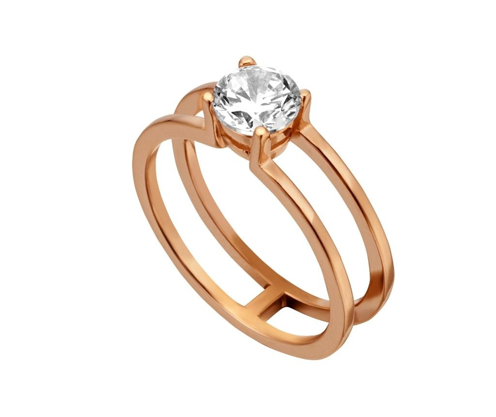 Inel Esprit Tara Rose Gold Tone 18 mm