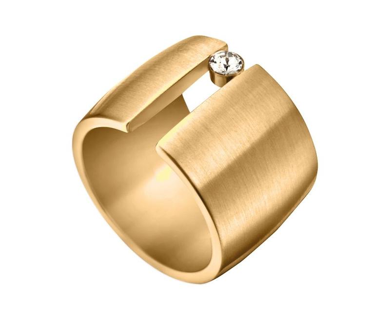 Prstan Esprit Onda Gold Tone 18 mm