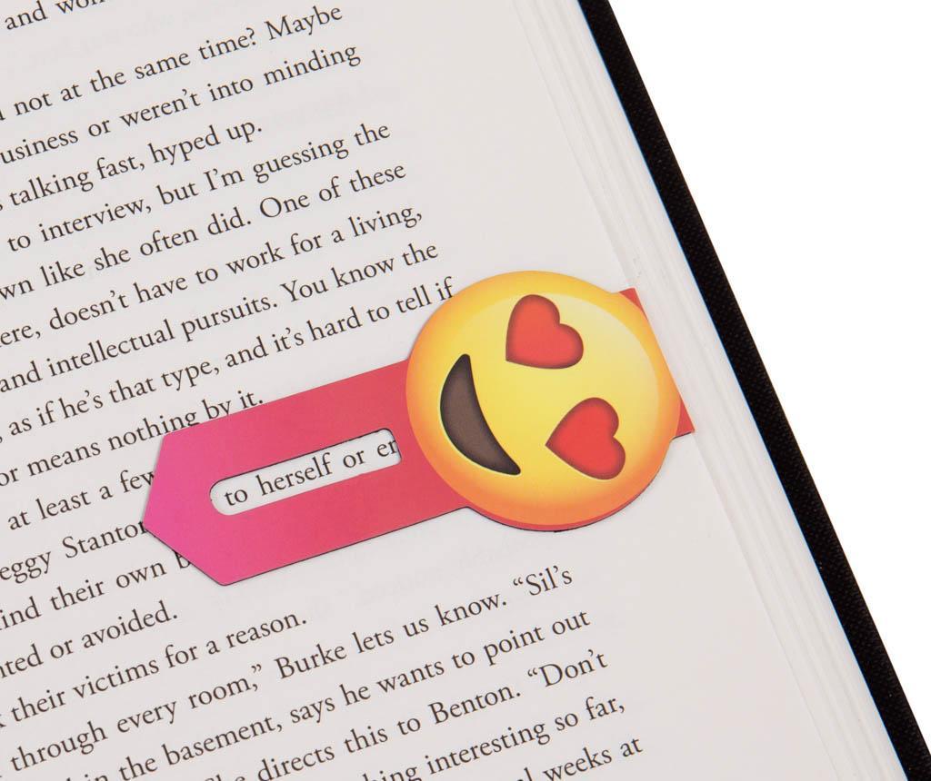 Set 2 semne pentru carte Linemarkers Love & Laugh