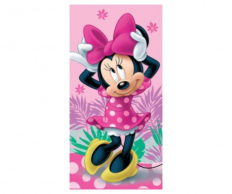 Brisača za plažo Minnie Mouse Cute 70x140 cm