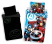 Спален комплект Single Avengers Glow