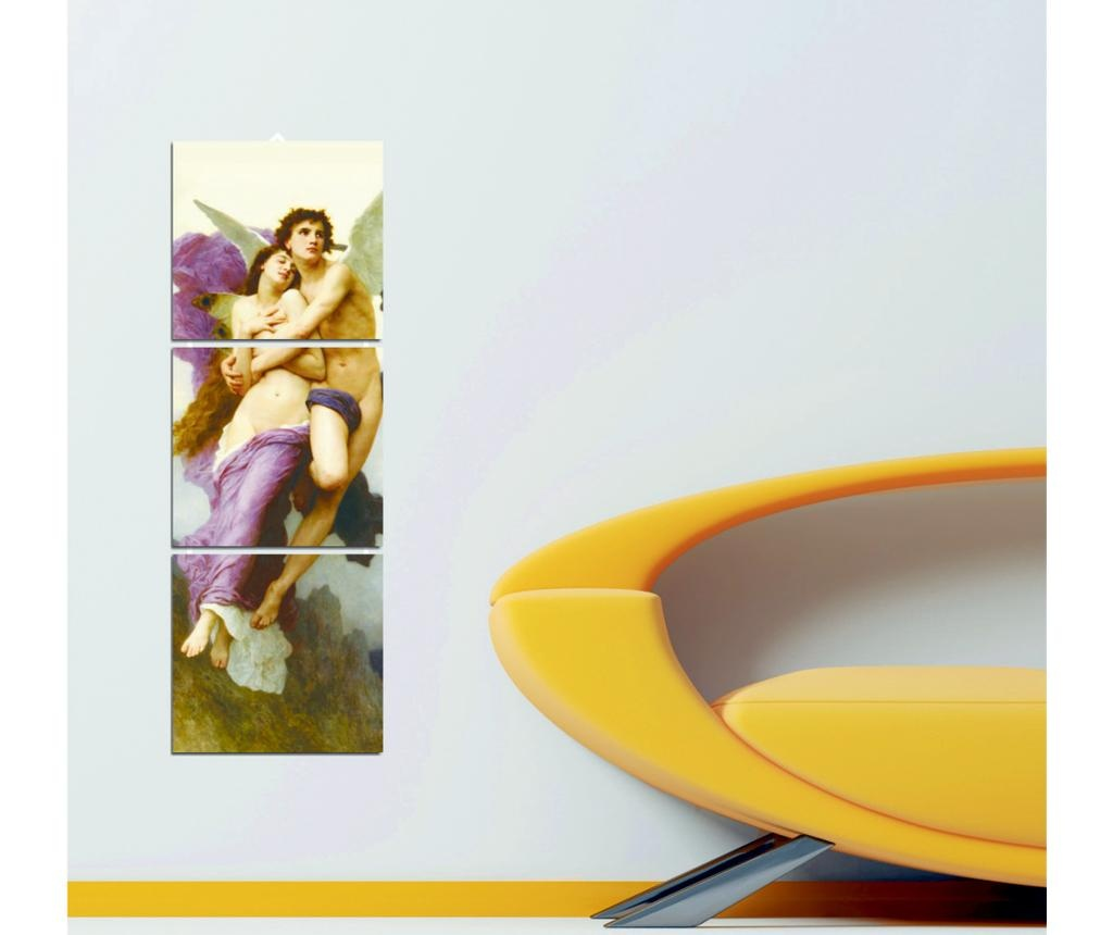 Set 3 tablouri Pearl 16x17 cm