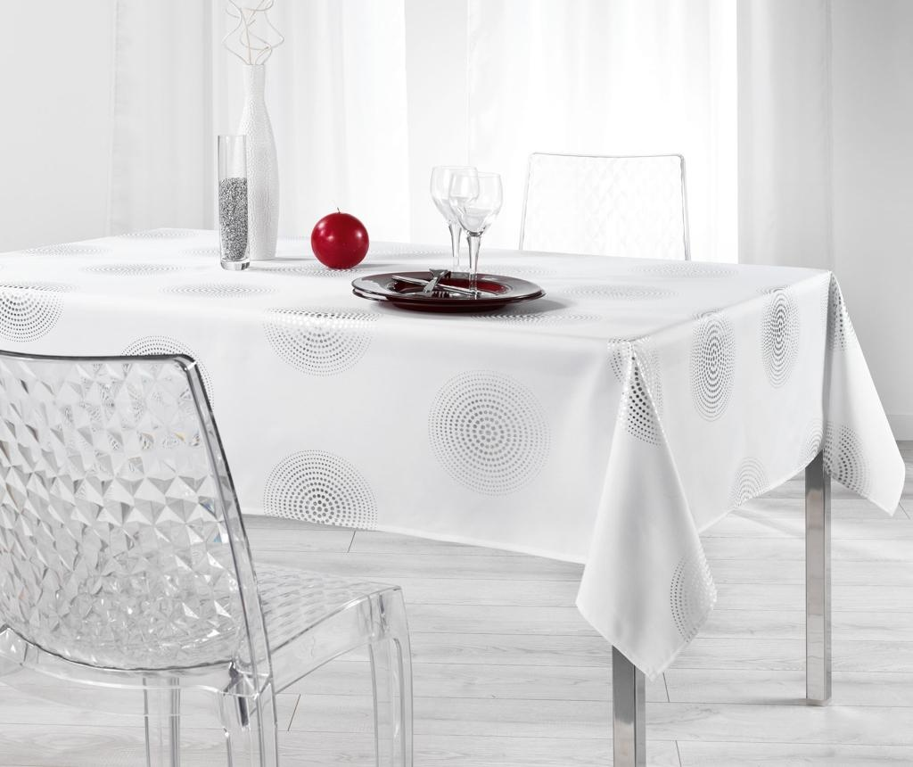Atome Atome Printed White Asztalterítő 150x300 cm