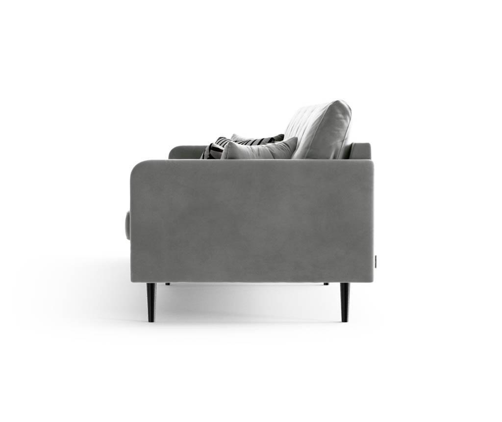 Canapea 4 locuri Memphis Grey