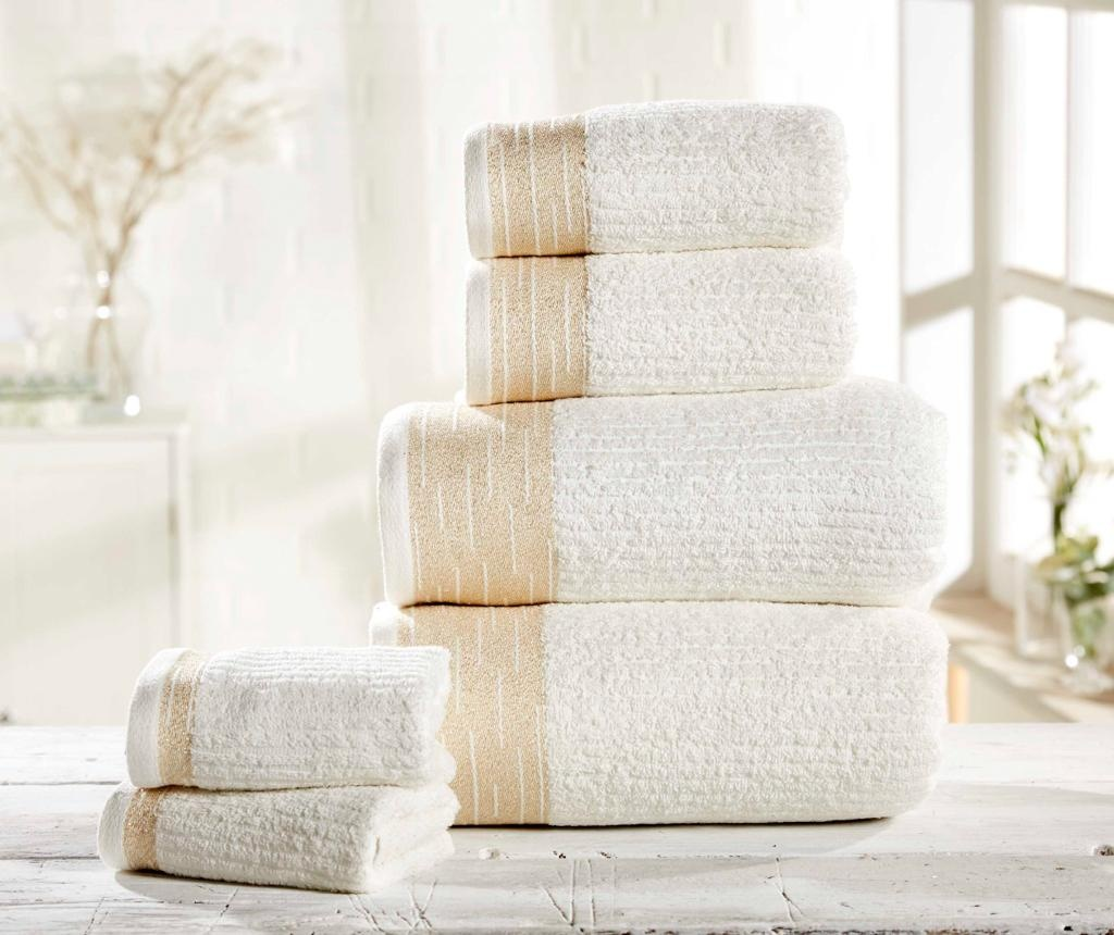 Set 6 kupaonska ručnika Mayfair Cream