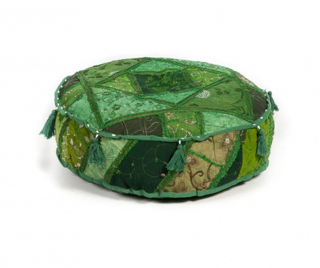 Ethnic Green Puff