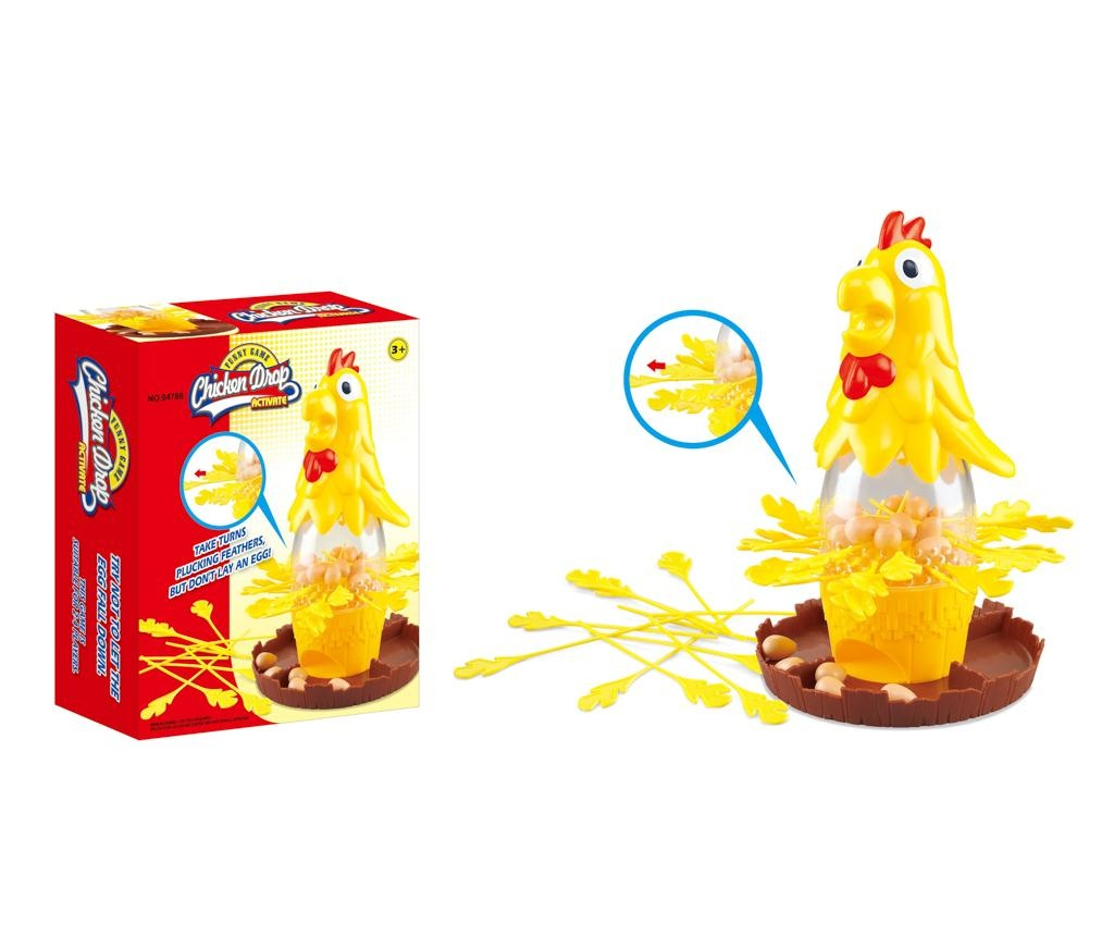 Chicken drop Ügyességi játék