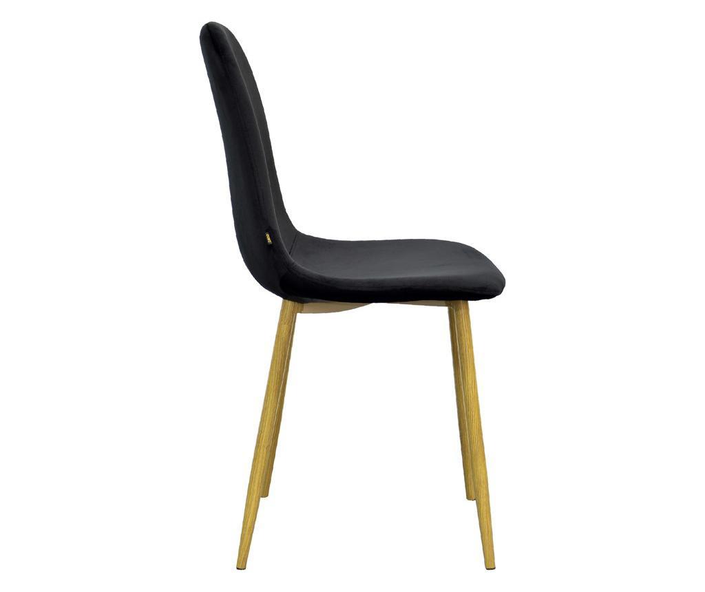 Židle Stockholm Black Velvet