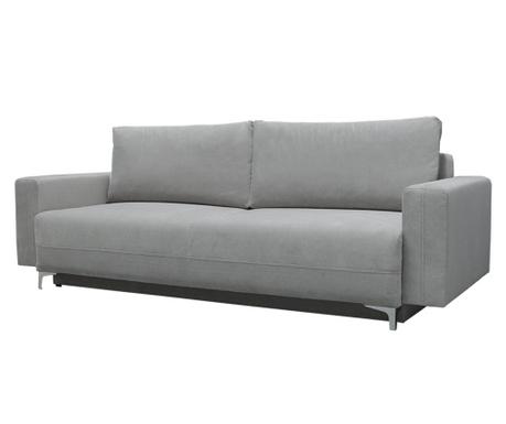 Marsylia Light Grey Háromszemélyes kihúzható kanapé