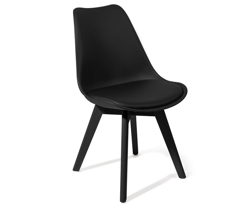 Комплект 4 стола Kiki Evo Black