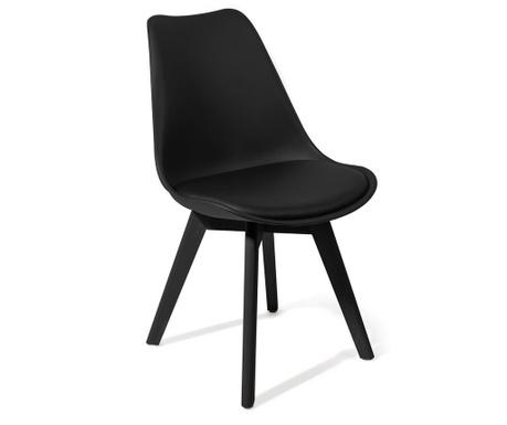 Set 4 stolice Kiki Evo Black