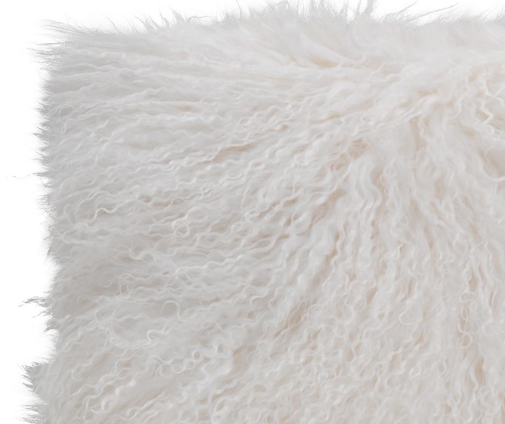Декоративна възглавница Fur Ivory 40x40 см