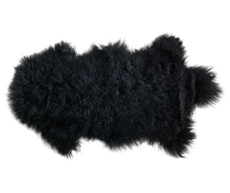 Tepih Fur Black 50x90 cm