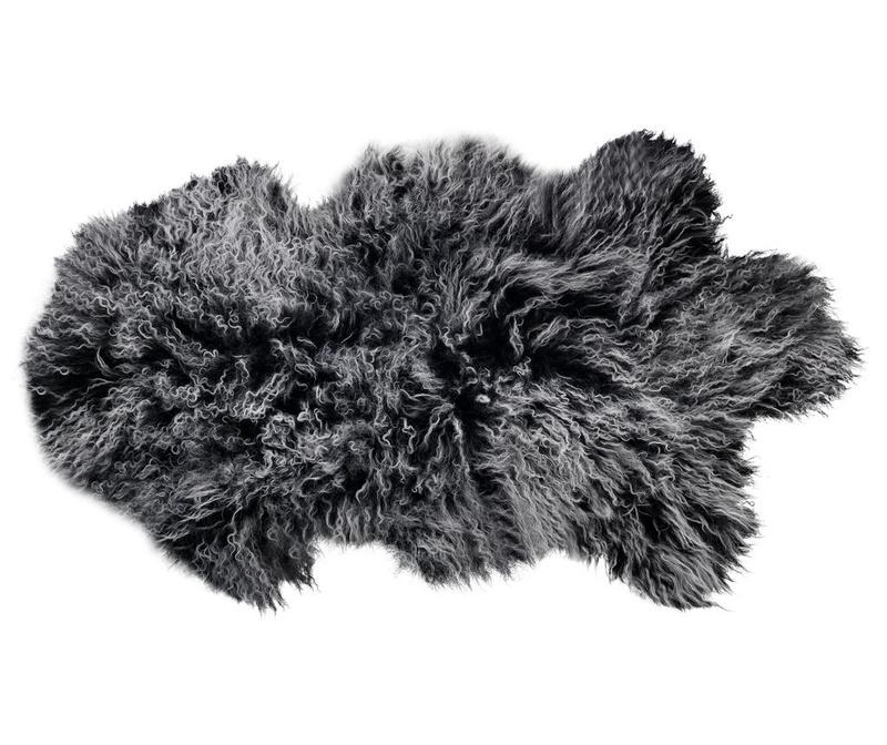 Черга Fur Heather Grey 50x90 см