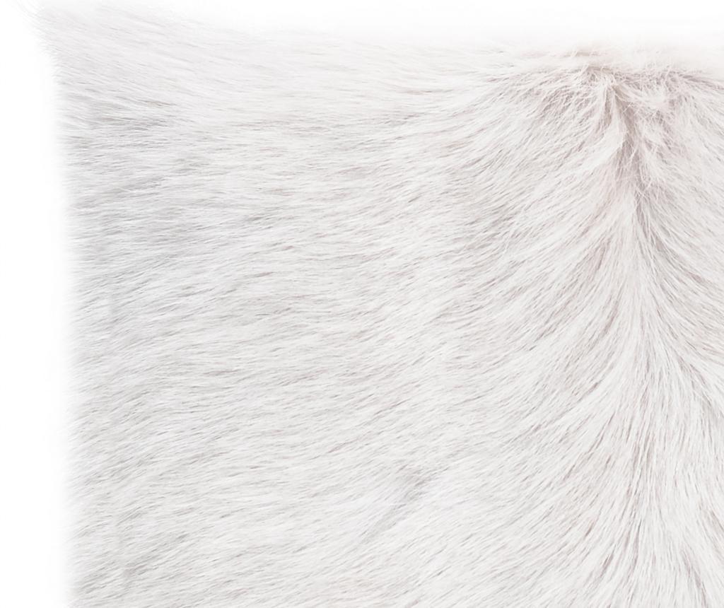 Декоративна възглавница Fur Maxi White 50x50 см