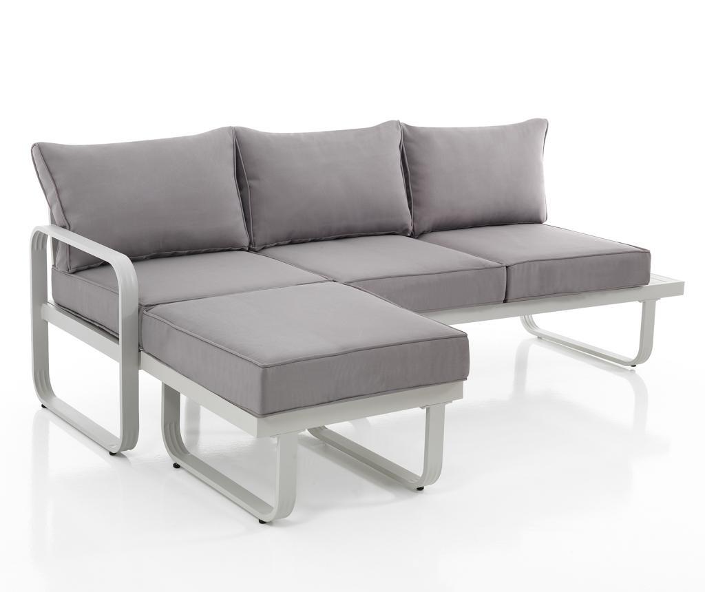 Canapea pentru exterior 3 locuri Ischia