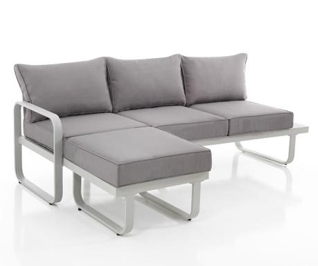 Sofa trosjed za vanjski prostor Ischia