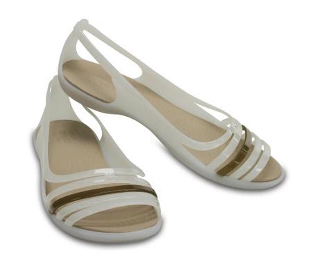 Ženski sandali Crocs Isabella Huarache Flat White 37-38