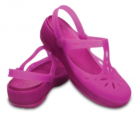 Ženske cokle Crocs Carlie Cutout Clog Pink 38-39