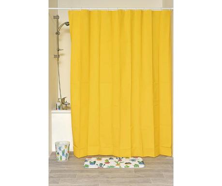 Peva Yellow Zuhanyfüggöny 180x200 cm