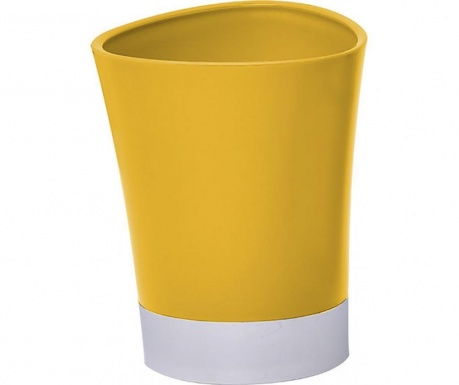 Pohár do koupelny Peva Yellow