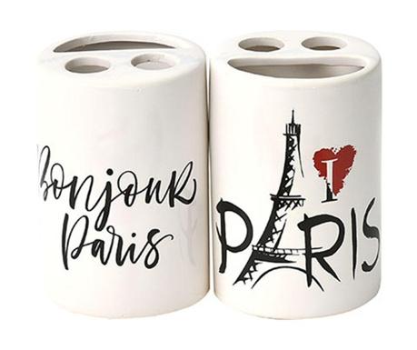 Stojan na zubní kartáčky Parisienne