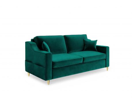 Canapea 2 locuri Marigold Bottle Green