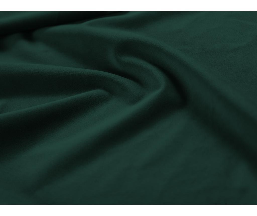 Raztegljiva desna kotna sedežna garnitura Hibiscus Bottle Green