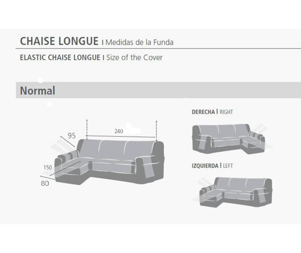Калъф за ляв ъглов диван Indico  Linen 240 см