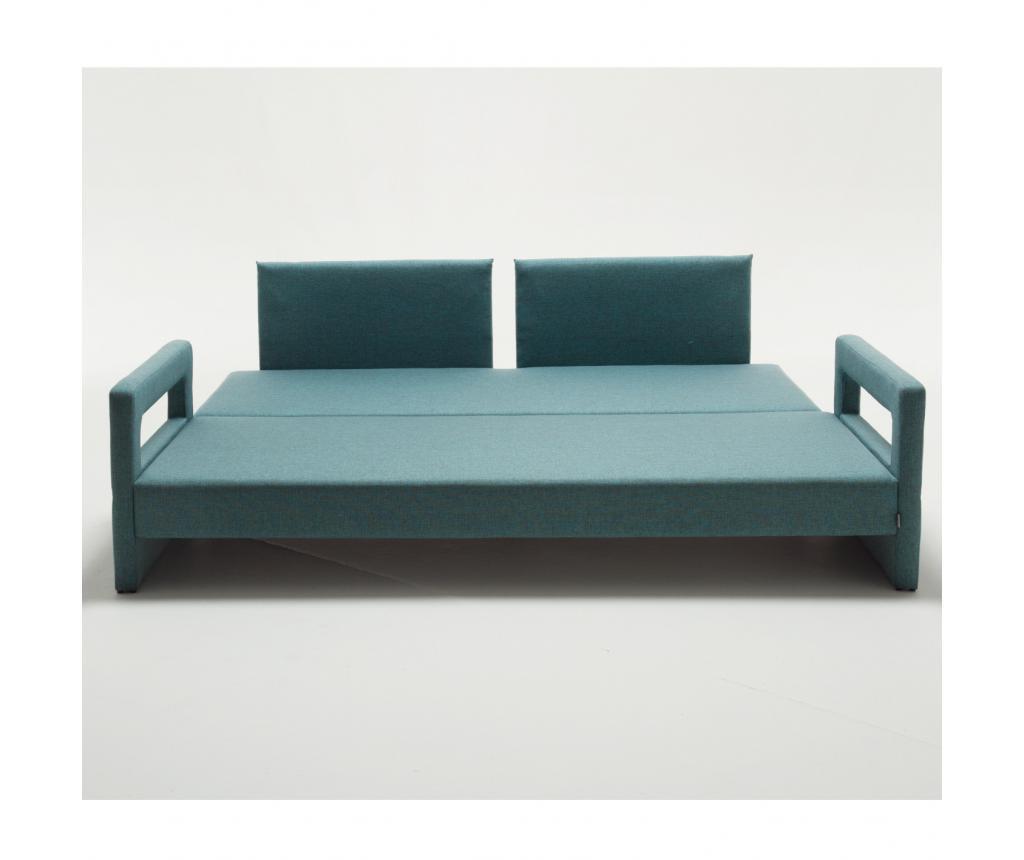 Canapea extensibila cu 3 locuri Comfort Elite Turquoise
