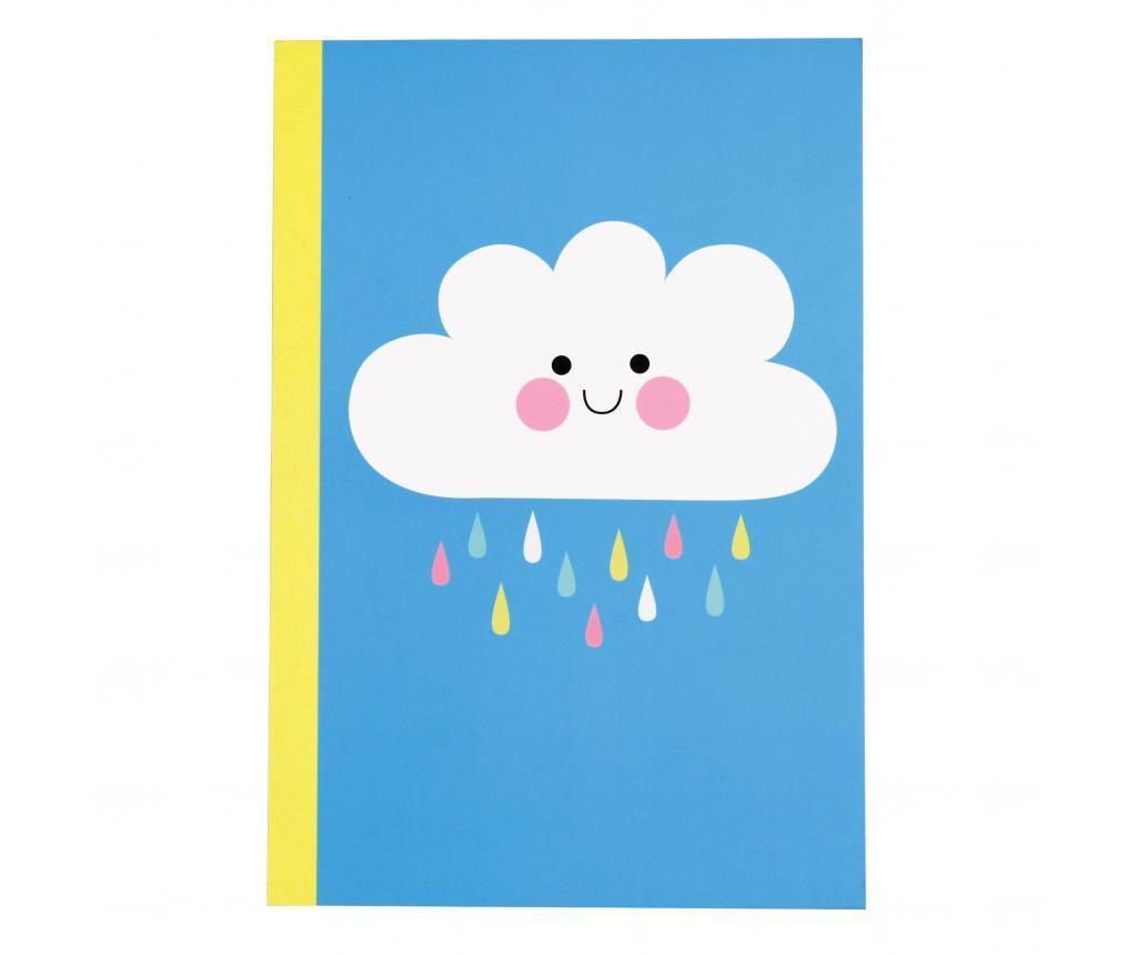 Σημειωματάριο Happy Cloud A5