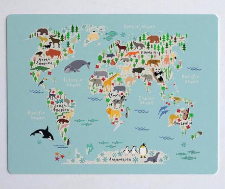 Namizna mapa Mapamundi