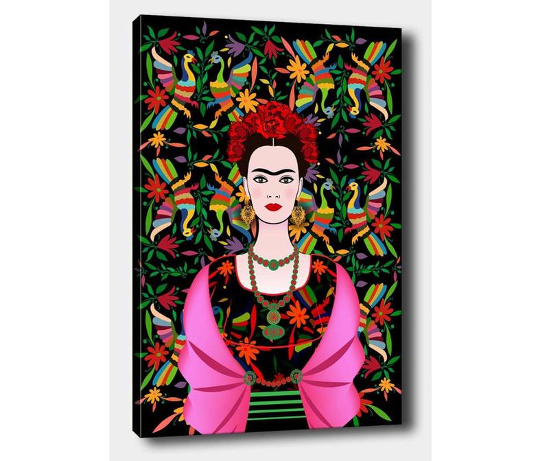 Slika Frida Dark 70x100 cm