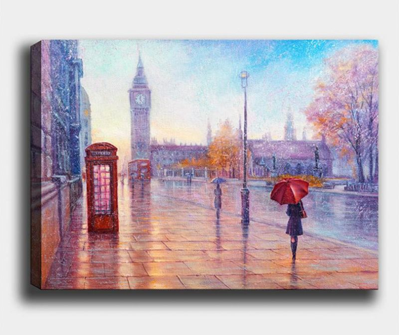 Slika London Phone 40x60 cm