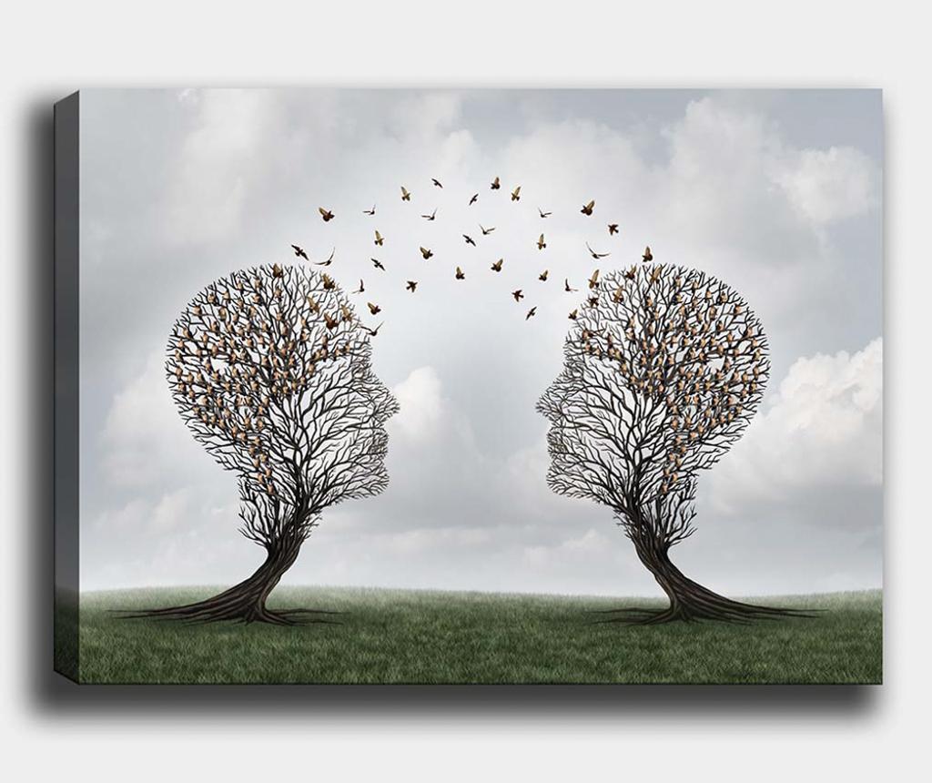 Slika Tree-Bird 100x140 cm