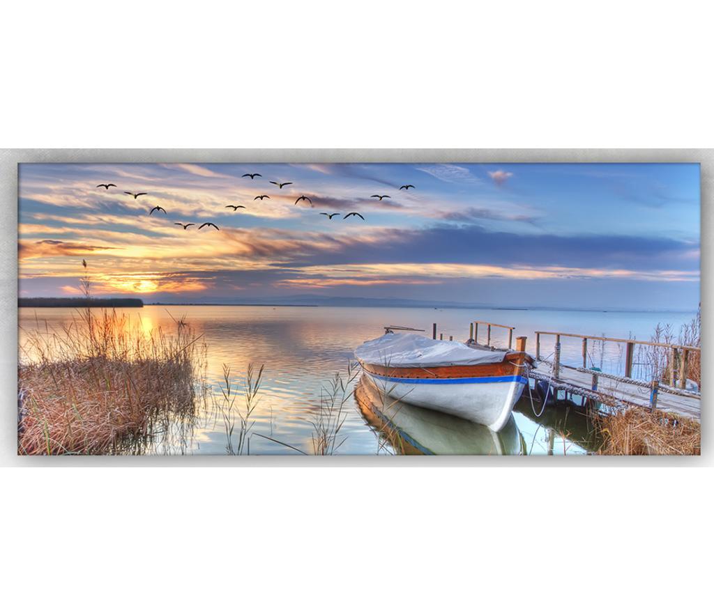 Slika Sea And Sunset 60x140 cm