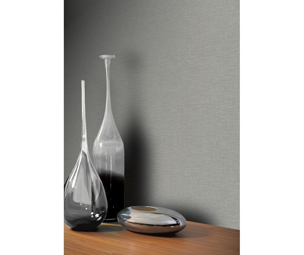 Stenska tapeta Canvas  Grey 53x1005 cm