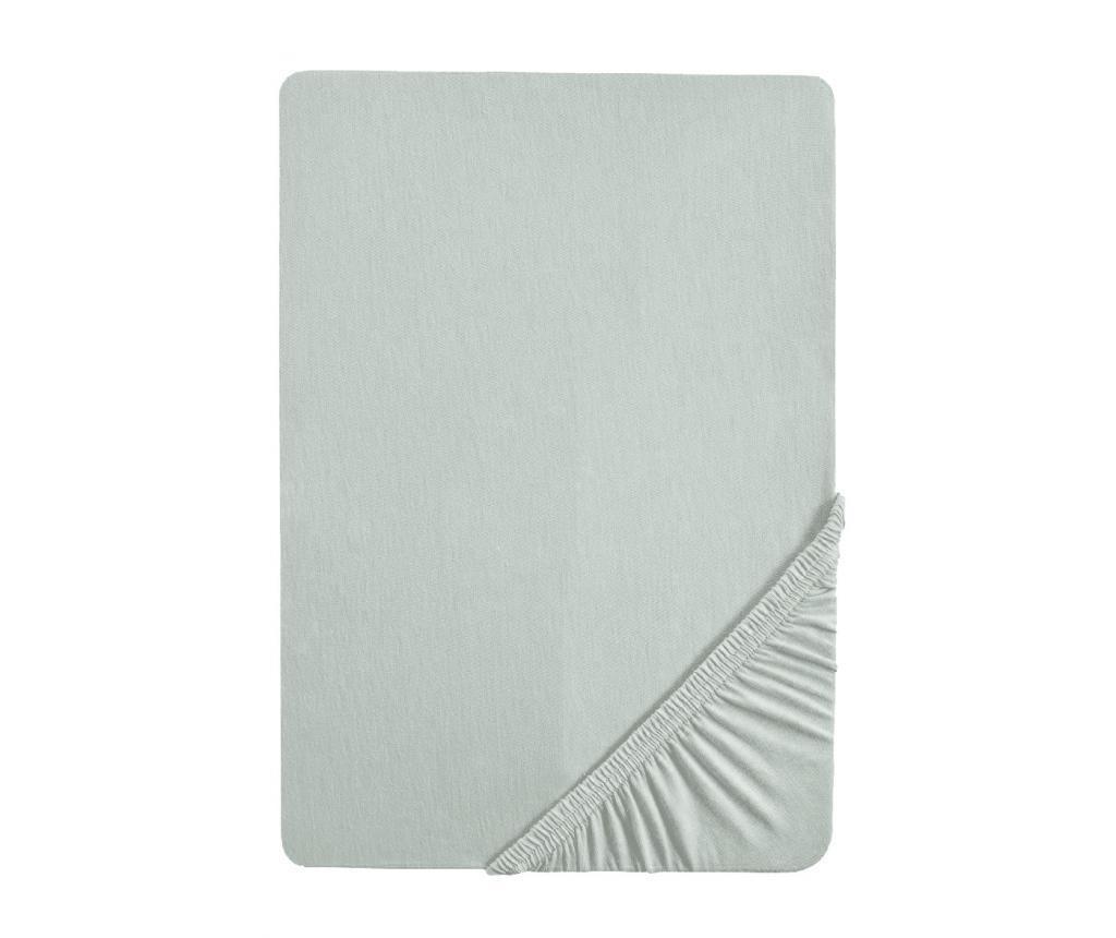 Cearsaf de pat cu elastic Grey 180x200 cm
