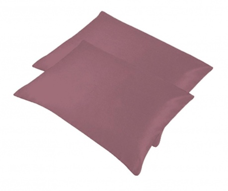 Set 2 jastučnice Bogo Light Purple 50x70 cm