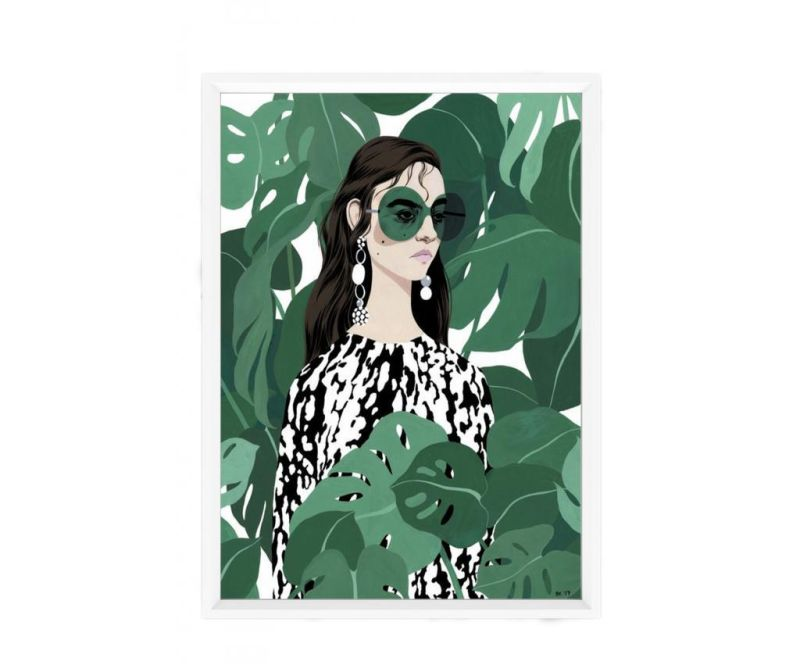 Tablou Tropical Portrait 23x33 cm