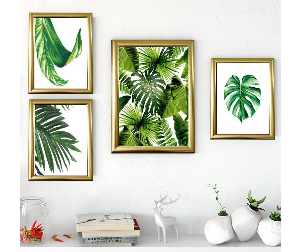 Set 4 tablouri Tropics