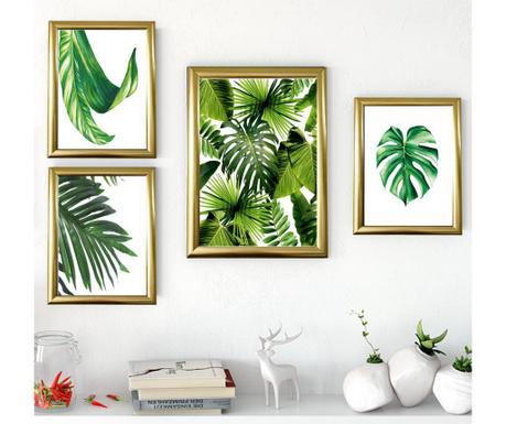 Σετ 4 πίνακες Tropics