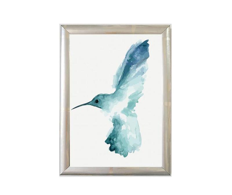 Tablou Bird Left 23x33 cm