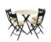 Set masa si 4 scaune pentru exterior Kaliope